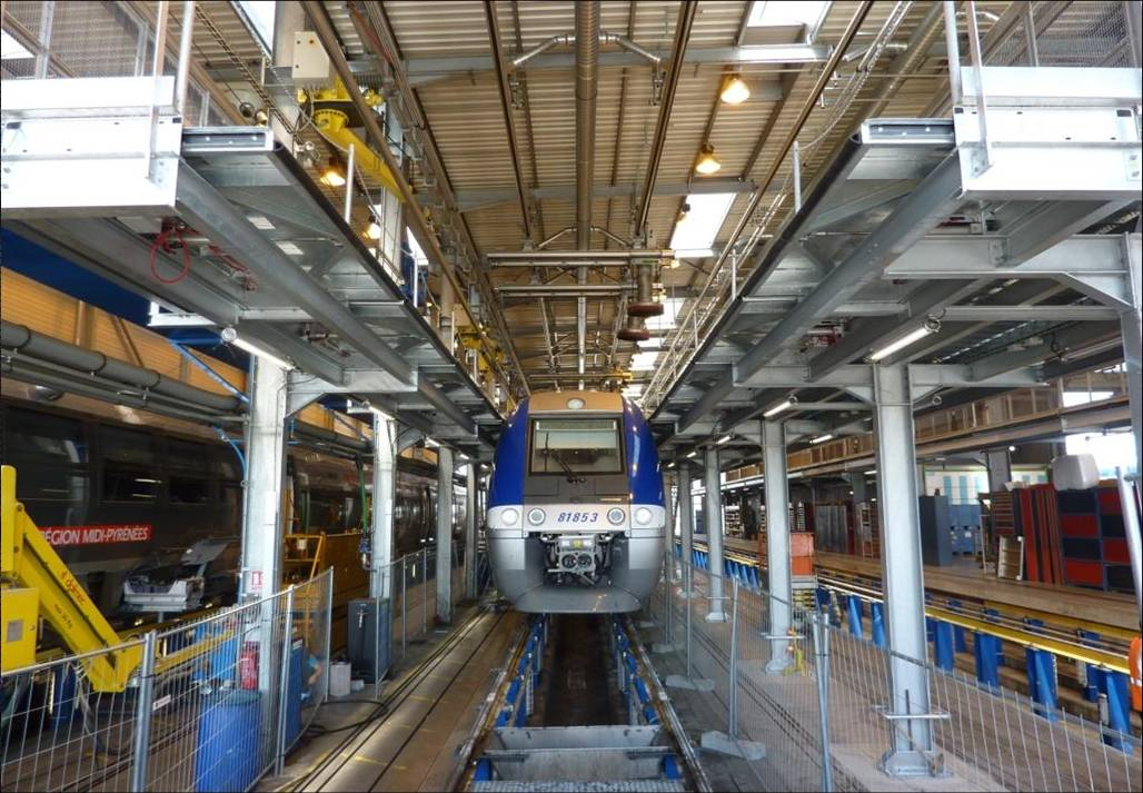 E_pneumatycznie wysuwane ramy dla kolei francuskich